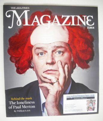 <!--2014-09-27-->The Times magazine - Paul Merton cover (27 September 2014)