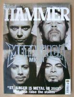 <!--2003-06-->Metal Hammer magazine - Metallica cover (June 2003)