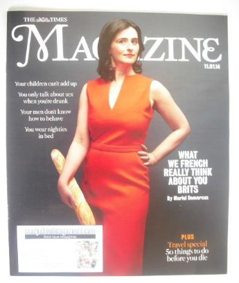 <!--2014-01-11-->The Times magazine - Muriel Demarcus cover (11 January 201