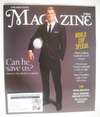 <!--2014-05-31-->The Times magazine - Joe Hart cover (31 May 2014)