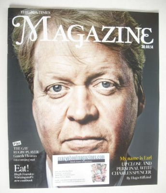 <!--2014-08-30-->The Times magazine - Charles Spencer cover (30 August 2014