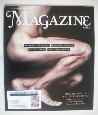<!--2014-08-02-->The Times magazine - Kilian Jornet cover (2 August 2014)