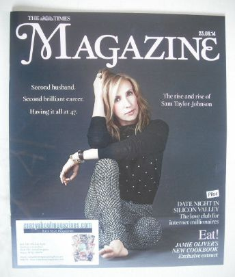 <!--2014-08-23-->The Times magazine - Sam Taylor-Johnson cover (23 August 2