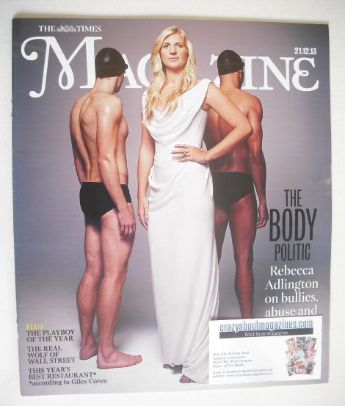 <!--2013-12-21-->The Times magazine - Rebecca Adlington cover (21 December