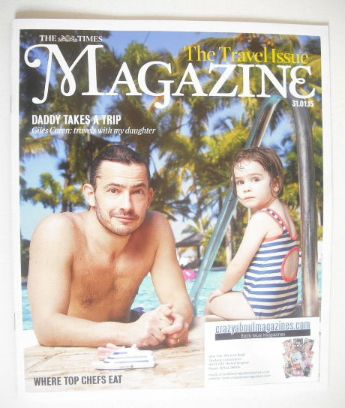 <!--2015-01-31-->The Times magazine - Giles Coren cover (31 January 2015)