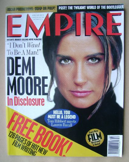 <!--1995-04-->Empire magazine - Demi Moore cover (April 1995 - Issue 70)