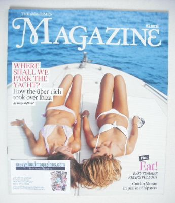<!--2013-08-03-->The Times magazine - Park the Yacht cover (3 August 2013)
