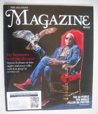 <!--2013-11-02-->The Times magazine - Dennis Rodman cover (2 November 2013)