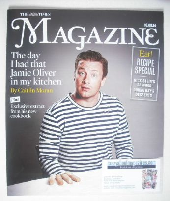 <!--2014-08-16-->The Times magazine - Jamie Oliver cover (16 August 2014)