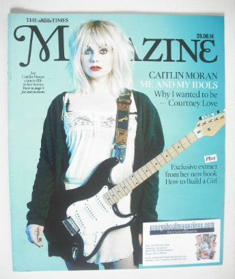 <!--2014-06-28-->The Times magazine - Caitlin Moran cover (28 June 2014)