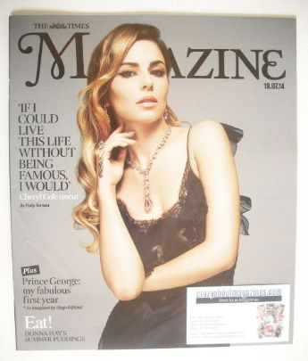 <!--2014-07-19-->The Times magazine - Cheryl Cole cover (19 July 2014)