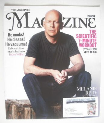 <!--2013-07-20-->The Times magazine - Bruce Willis cover (20 July 2013)