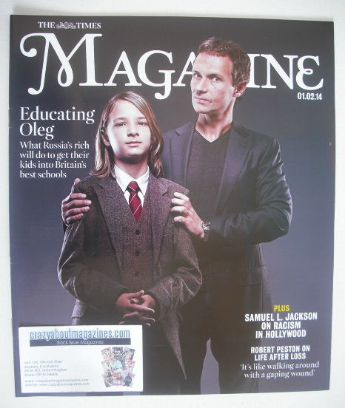 <!--2014-02-01-->The Times magazine - Educating Oleg cover (1 February 2014