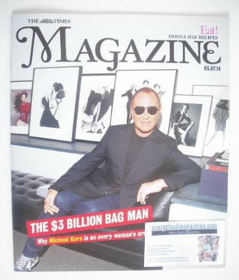 <!--2014-07-05-->The Times magazine - Michael Kors cover (5 July 2014)