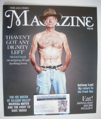 <!--2015-01-17-->The Times magazine - Michael Buerk cover (17 January 2015)