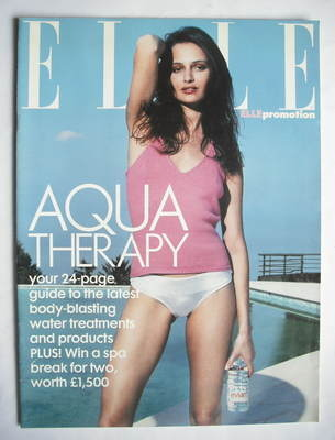 British Elle supplement - Aqua Therapy (May 2000)