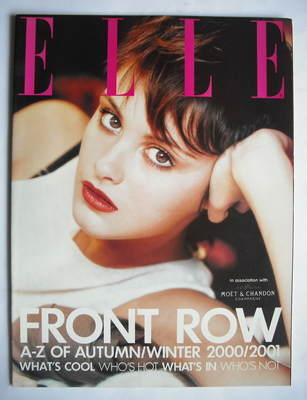 British Elle supplement - Front Row (Autumn/Winter 2000/2001)