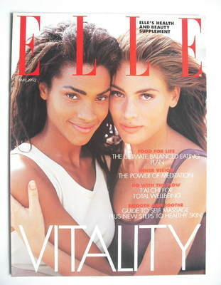 British Elle supplement - Vitality (May 1992)