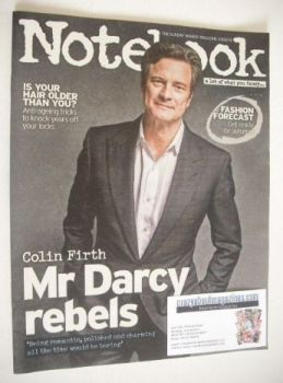 Notebook magazine - Colin Firth cover (31 August 2014)