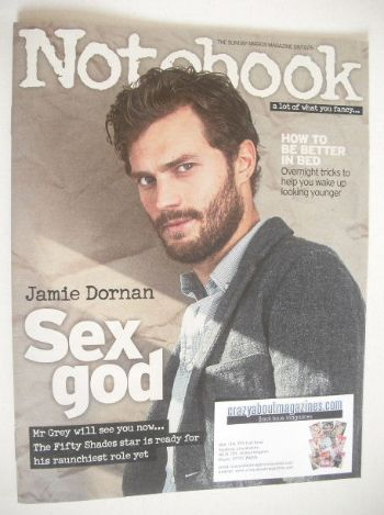 <!--2015-02-08-->Notebook magazine - Jamie Dornan cover (8 February 2015)