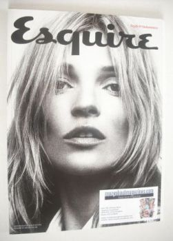 Esquire magazine - Kate Moss cover (September 2013 - Subscriber's Issue)