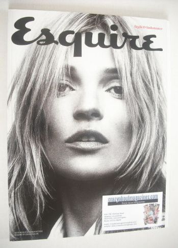 <!--2013-09-->Esquire magazine - Kate Moss cover (September 2013 - Subscrib