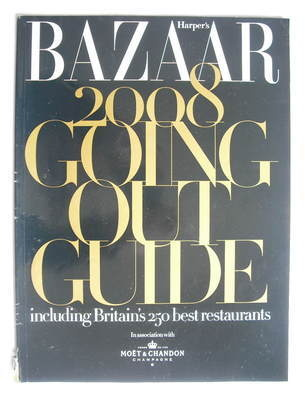 Harper's Bazaar supplement - 2008 Going Out Guide