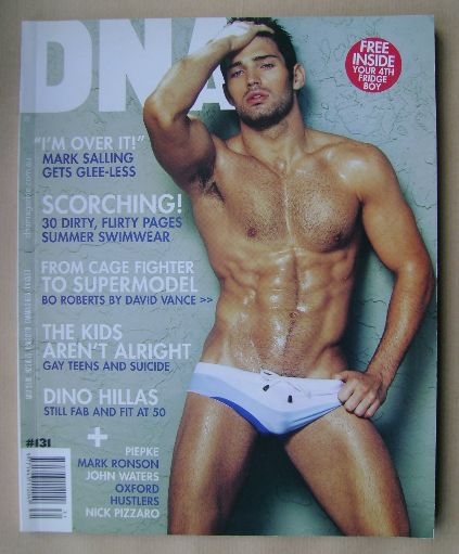 <!--0131-->DNA magazine - Bo Roberts cover (December 2010 - Issue 131)