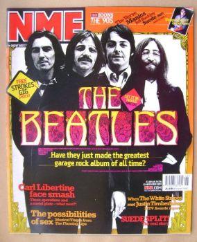 NME magazine - The Beatles cover (15 November 2003)