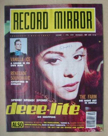 <!--1990-12-01-->Record Mirror magazine - 1 December 1990