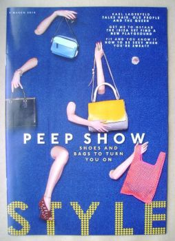 Style magazine - Peep Show cover (9 March 2014)