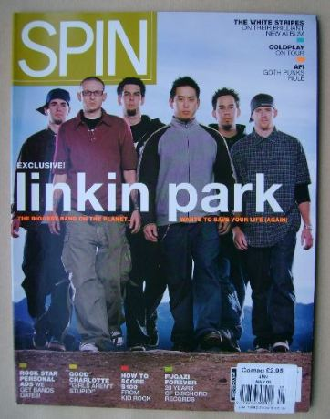 Spin magazine - Linkin Park cover (May 2003)