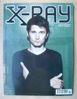 X-RAY magazine - October 2003 - Matt Bellamy cover