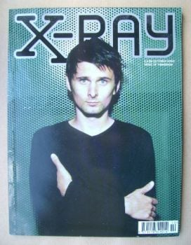 <!--2003-10-->X-RAY magazine - October 2003 - Matt Bellamy cover