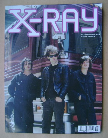 <!--2003-09-->X-RAY magazine - September 2003