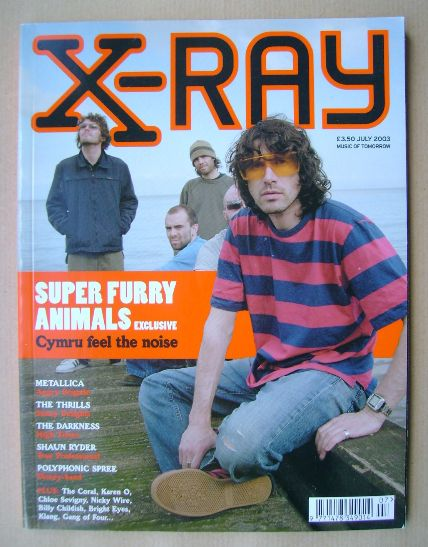 <!--2003-07-->X-RAY magazine - July 2003