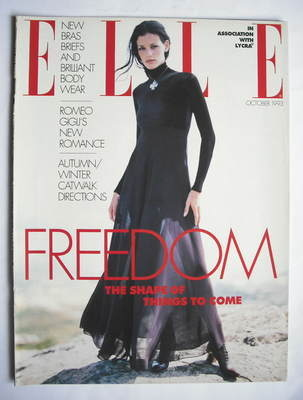 British Elle supplement - Freedom (October 1993)