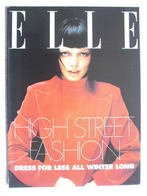 British Elle supplement - High Street Fashion (1997)