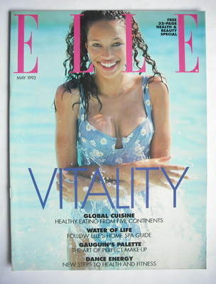 British Elle supplement - Vitality (May 1993)