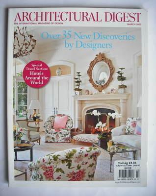 Architectural Digest magazine - March 2009