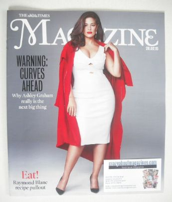 <!--2015-02-28-->The Times magazine - Ashley Graham cover (28 February 2015