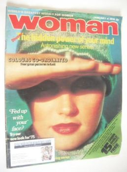 Woman magazine (4 January 1975)