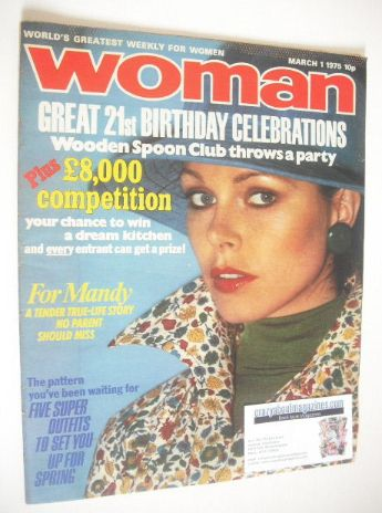 <!--1975-03-01-->Woman magazine (1 March 1975)