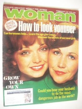 Woman magazine (22 February 1975)