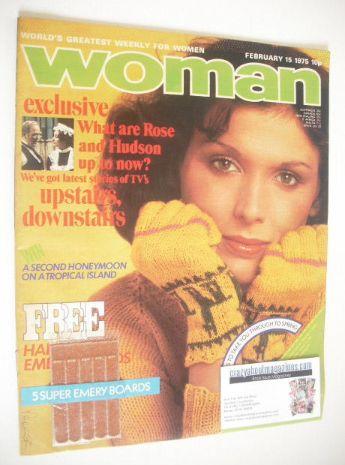 <!--1975-02-15-->Woman magazine (15 February 1975)
