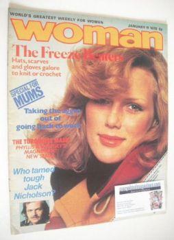 Woman magazine (11 January 1975)