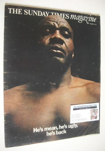 <!--1969-12-14-->The Sunday Times magazine - Sonny Liston cover (14 Decembe