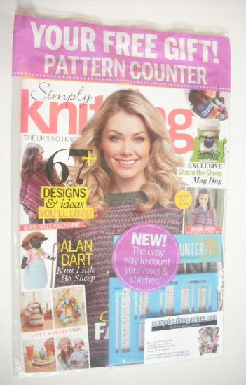Simply Knitting Magazine : Simply knitting magazine issue april