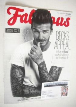 Fabulous magazine - David Beckham cover (26 April 2015)