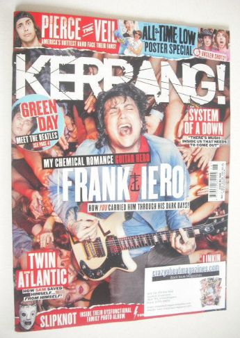 <!--2015-05-01-->Kerrang magazine - Frank Iero cover (2 May 2015 - Issue 15